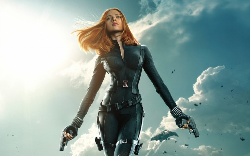 Captain America The Winter Soldier- Scarlett Johansson