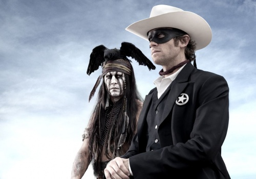 The Lone Ranger- Johnny Depp