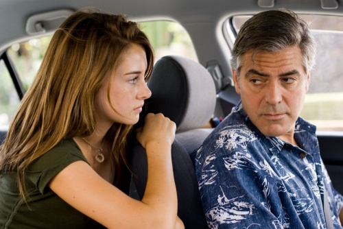 The Descendants- Shailene Woodley, George Clooney