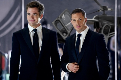 This Means War- Chris Pine & Tom Hardy