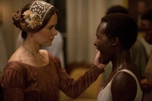 Twelve Years A Slave- Sarah Paulson & Lupita Nyong'o
