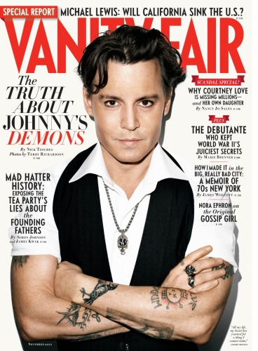 Vanity Fair- Johnny Depp