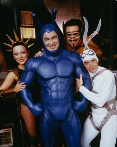 The Tick- David Burke, Liz Vassey, Nestor Carbonell, Patrick Warburton