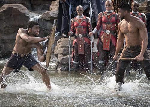 Black Panther- Michael B. Jordan, Chadwick Boseman