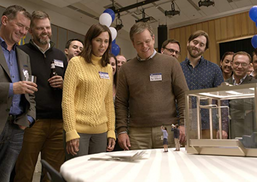 Downsizing- Kristen Wiig, Matt Damon