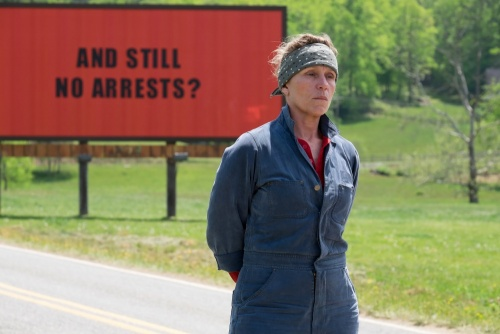 Three Billboards Outside Ebbing, Missouri- Frances McDormand