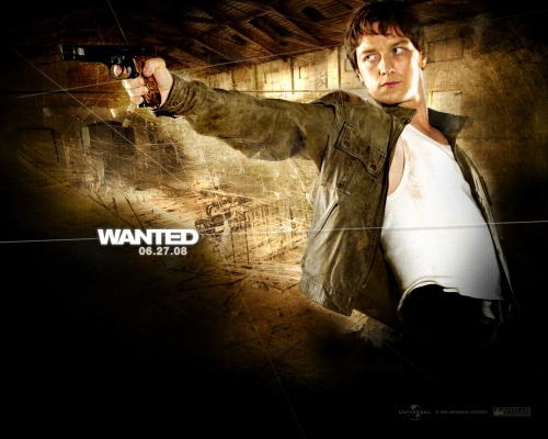 Wanted- James McAvoy