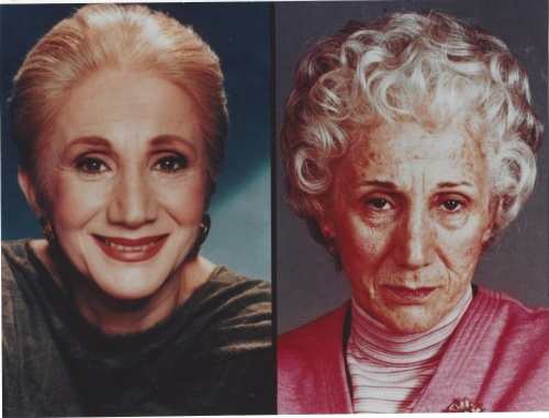 Dad- Olympia Dukakis - 20 Year Aging