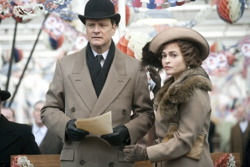 The Kings Speech- Collin Firth & Helena Bonham Carter