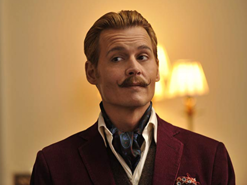 Mortdecai- Johnny Depp