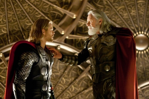 Thor - Chris Hemsworth,  Anthony Hopkins