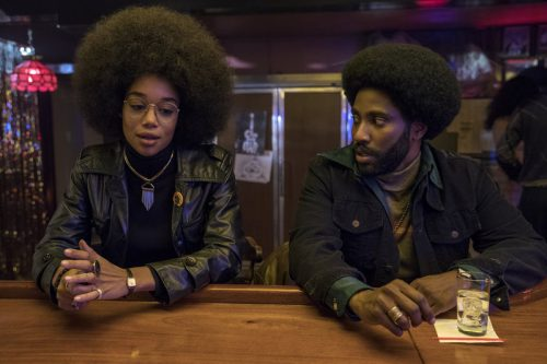 Blackkklansman- John David Washington &  Laura Harrier