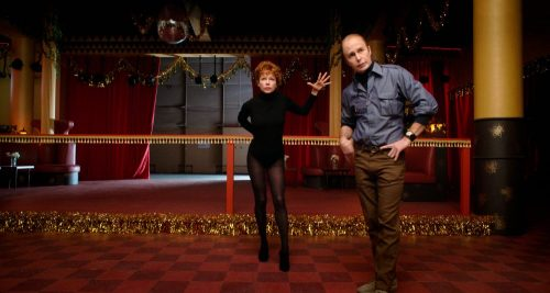Fosse Verdon Wig Design- Sam Rockwell & Michelle Williams