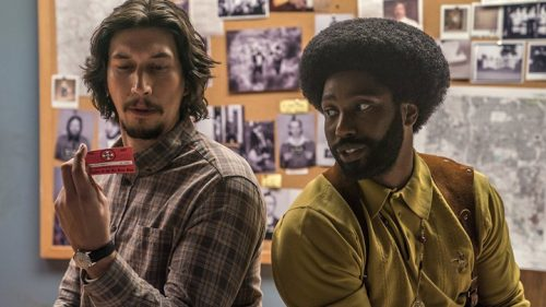 Blackkklansman- Adam Driver & John David Washington