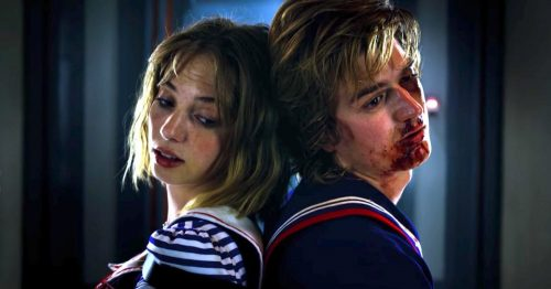 Stranger Things- Maya Hawke & Joe Keery