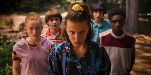 Stranger Things- Sadie Sink, Noah Schnapp, Millie Bobby Brown, Finn Woldhard, Caleb McLaughlin