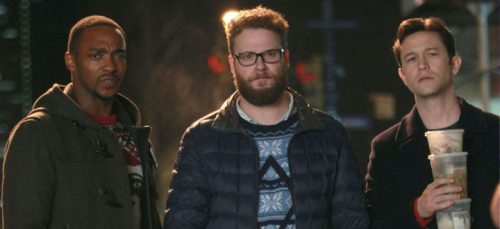 The Night Before- Anthony Mackie, Seth Rogen & Joseph Gordon Levitt