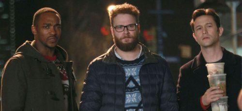 The Night Before- Anthony Mackie, Seth Rogen & Joseph Gordon Levitt