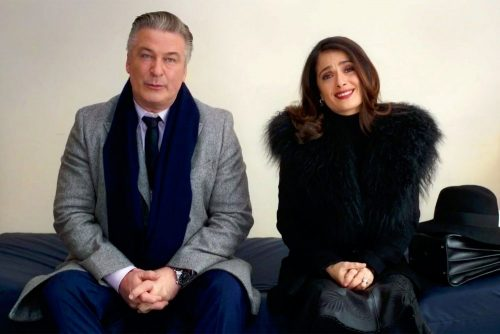 Drunk Parents- Alec Baldwin & Selma Hayek