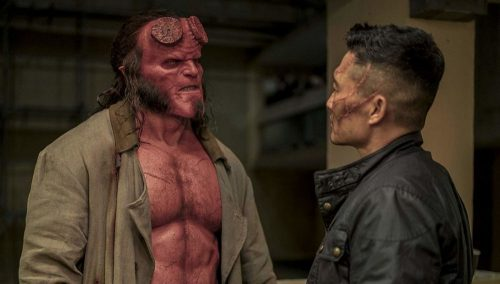 Hellboy- David Harbour