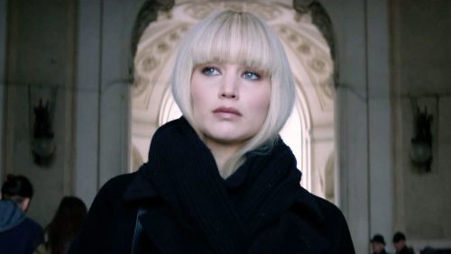 Red Sparrow- Jennifer Lawrence