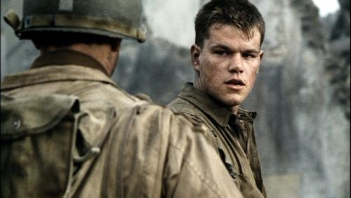 Saving Private Ryan- Matt Damon
