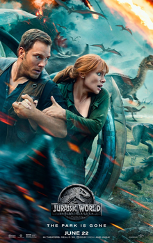 Jurasic World Fallen Kingdom- Chris Pratt, Bryce Dallas Howard