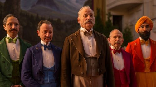 The Grand Budapest Hotel - Bill Murray, Wally Wolodarsky, Fisher Stevens, Bob Balaban, Waris Ahluwalia