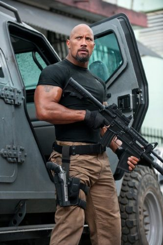 Fast Five- Dwayne Johnson