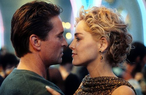 Basic Instinct- Michael Douglas & Sharon Stone