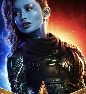 Captain Marvel- Gemma Chan