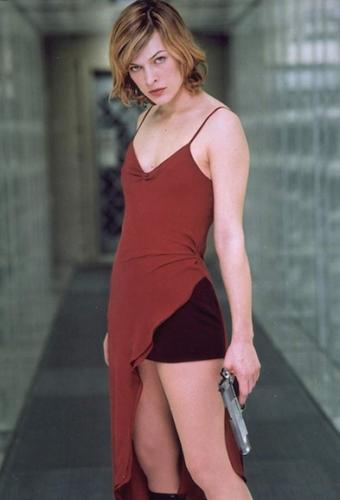 Resident Evil- Mila Jovovich