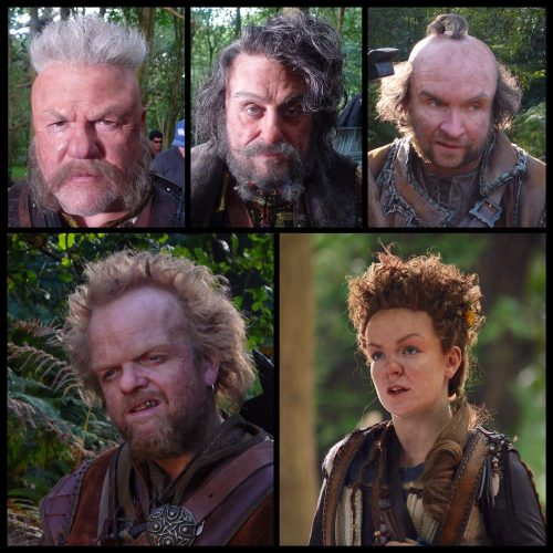 RAY WINSTONE_IAN MCHANE_EDDIE MARSAN_TOBY JONES_SHERIDAN SMITH_SNOW WHITE AND THE HUNTSMAN