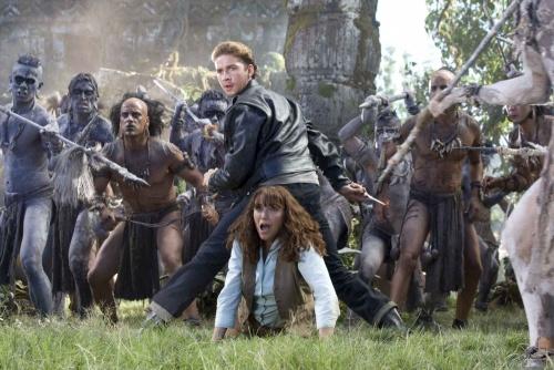 Indiana Jones and the Kingdom of the Crystal Skull- Shia LaBeof, Karen Allen