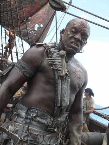 Pirates of the Caribbean: On Stranger Tides- Gunner