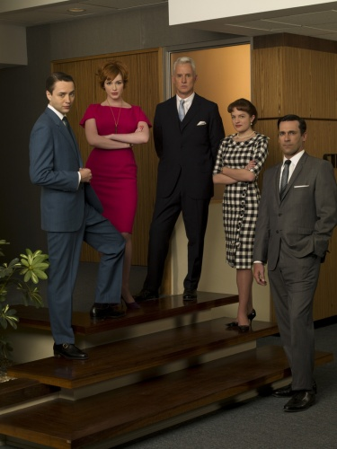 Mad Men- Christina Hendricks, Elisabeth Moss, Jon Hamm