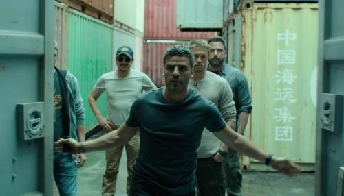 Triple Frontier- Oscar Isaac, Garett Hedlund, Charlie Hunnam