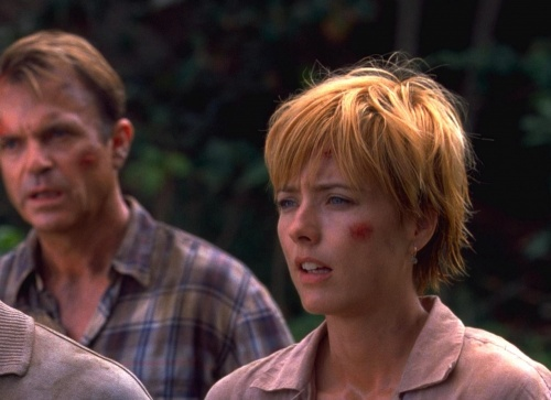 Jurassic Park 3- Tea Leoni