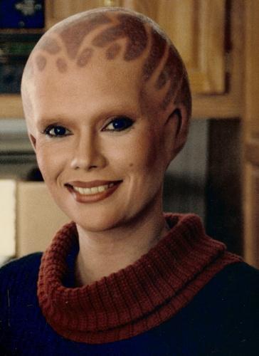 Alien Nation - Prosthetic Beauty Makeup
