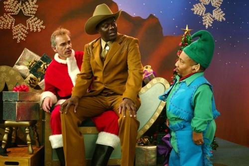 Bad Santa- Bernie Mac, Tony Cox