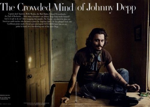 Vanity Fair- Johnny Depp