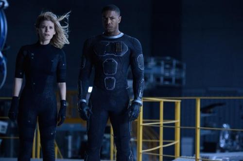 Fantastic Four- Kate Mara, Michael B Jordan