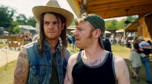 Logan Lucky- Jack Quaid & Brian Gleeson