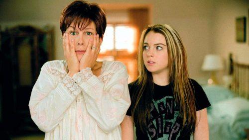 Freaky Friday- Jamie Lee Curtis & Lindsey Lohan