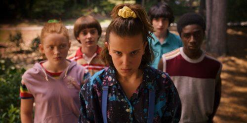 Stranger Things- Sadie Sink, Noah Schnapp, Millie Bobby Brown, Finn Woldhard, Caleb McLaughlin
