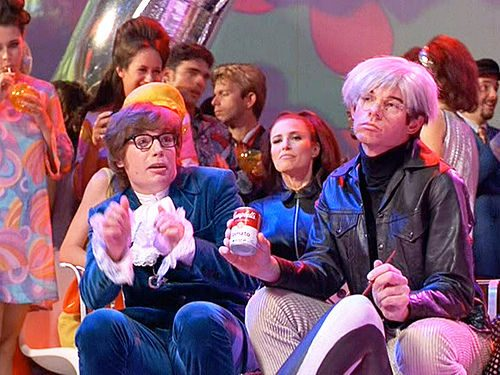 Austin Powers- Mike Myers