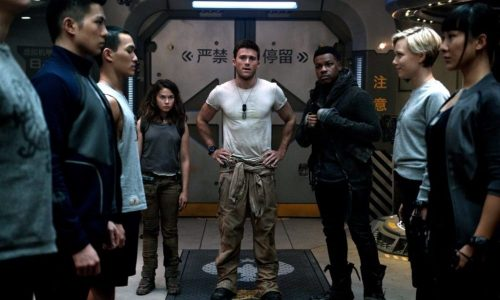 Pacific Rim Uprising- Scott Eastwod, John Boyaga & Cailee Spaney