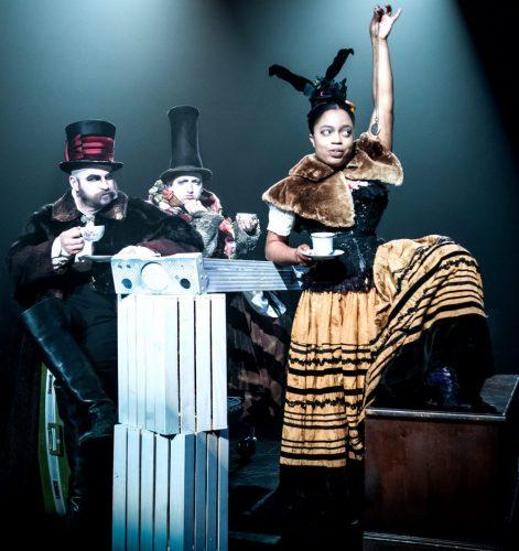 Your Alice-Tea Party Trio