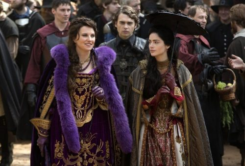 Salem(Season 2)-Lucy Lawless and Janet Montgomery