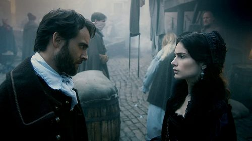 Salem(Season 2)-Stuart Townsend and Janet Montgomery